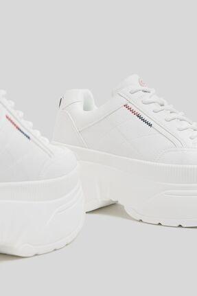 Bershka Xl Tabanlı Sportif Bilekli Spor Ayakkabı 4