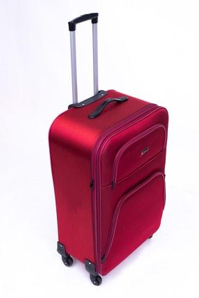 Moda Mv 760 Kırmızı Kabin Boy Valiz MV 760 KABİN