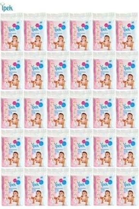 İpek Maxi Bebek Temizleme Pamuğu 60 Lı 30 Paket 1
