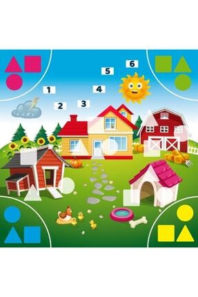 Learned Games Rainy Day 2-3 Yaş Okul Öncesi Eğitici Oyun 3