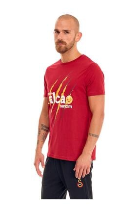 Galatasaray Erkek Kırmızı Galatasaray Admin Falcao Sandım T-shirt E191285 1