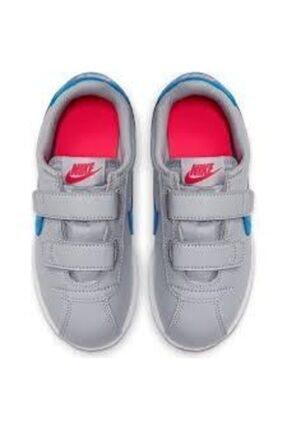 Nike Cortez Basic Sl Gri Çocuk Spor Ayakkabı 1