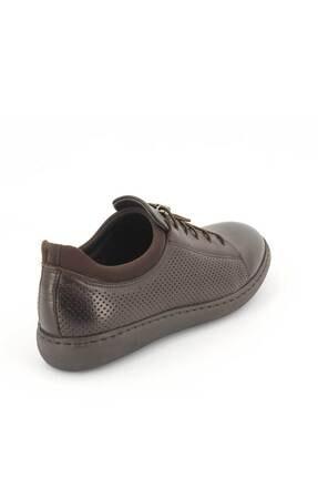 Venüs Erkek Kahverengi Deri Ayakkabı 2