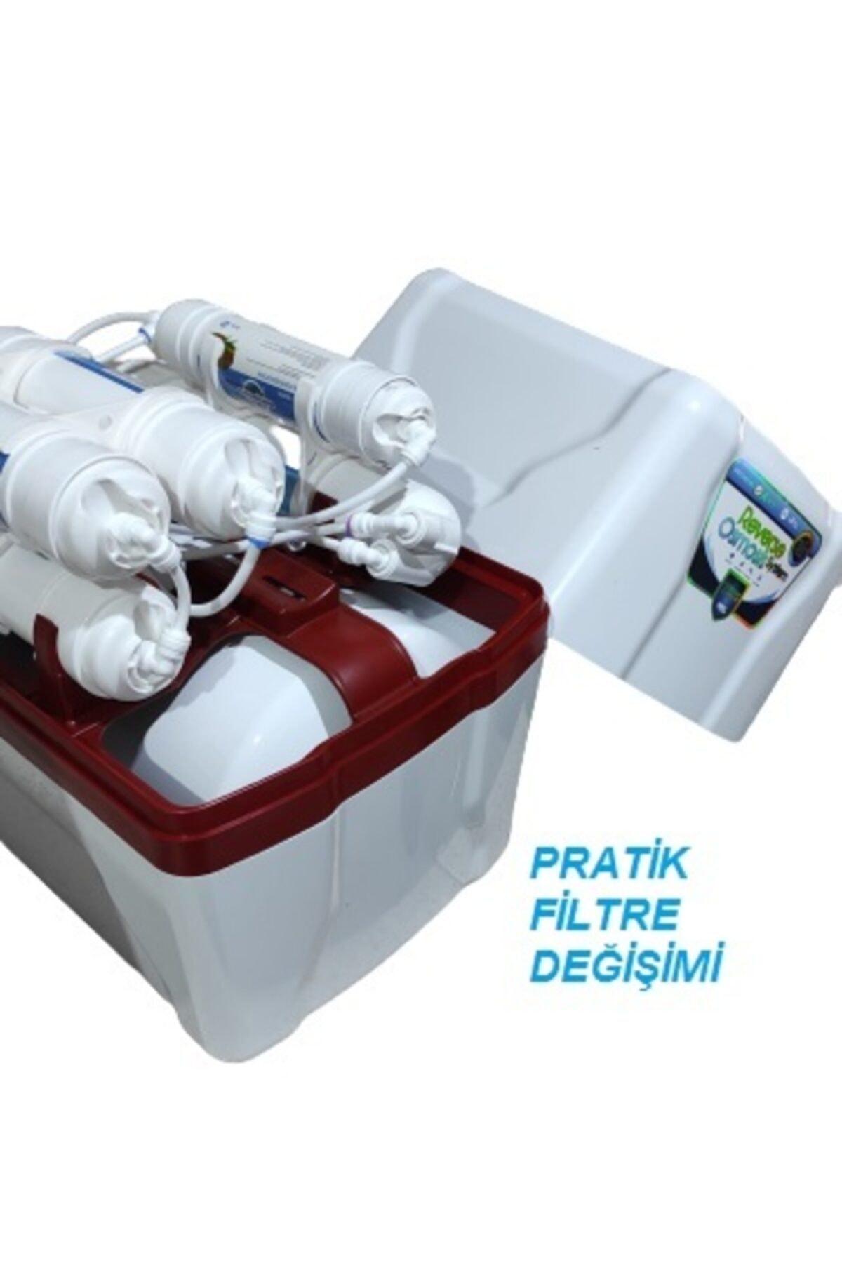 purewater Pure Water 8lt Metal Tanklı 5 Aşamalı Su Arıtma Cihazı