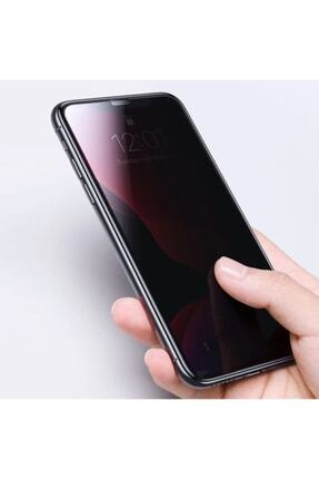 Telefon Aksesuarları Iphone 11 Pro Max (6.5'') Kavisli Gizlilik Filtreli Zengin Çarşım Hayalet Ekran Koruyucu 3