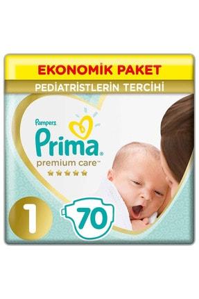 Prima Bebek Bezi Premium Care 1 Beden 70 Adet Yenidoğan Jumbo Paket 0
