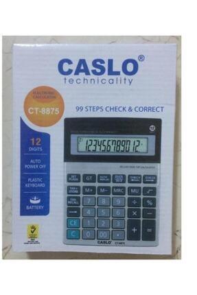 Caslo Ct-8875 12 Haneli Hesap Makinesi 0