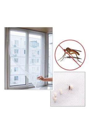 Dünya Magnet Tika 5 Adet Hazır Pencere Sinekliği, 75x125 Cm Tek Kanat Tül Pencere Kapı Sineklik 4