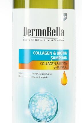 DERMOBELLA Dermo Bella Collagen & Biotin Şampuan 700 Ml 0