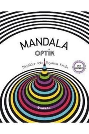 İnkılap Kitabevi Mandala - Optik Büyükler Için Boyama Kitabı 0