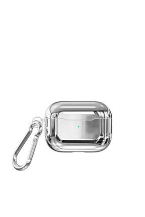 Zore Parlak Suya Dayanıklı Wireless Kablosuz Şarj Destekli Askı Aparatlı Kancalı  Airpods Pro Kılıf 0