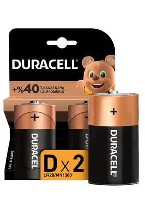 Duracell Pil D Büyük Boy 2 Li 0