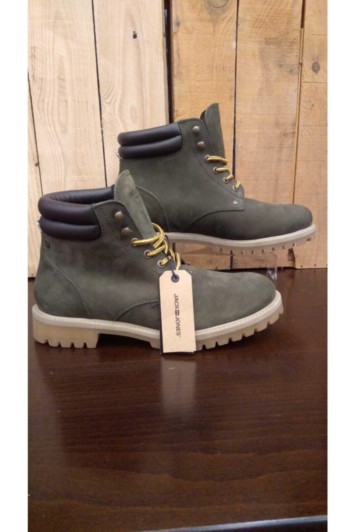 Jfwstoke Nubuck Boot Olive Night