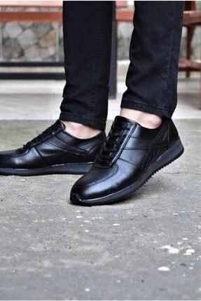 ALBİDÜNYA Erkek Siyah Günlük Spor Ayakkabı 0