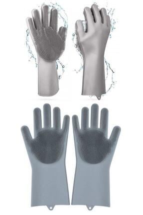 İndirimKap Magic Gloves Sihirli Bulaşık Eldiveni Mutfak Banyo Temizleme Fırçası Oto Ev Iş Pratik 1