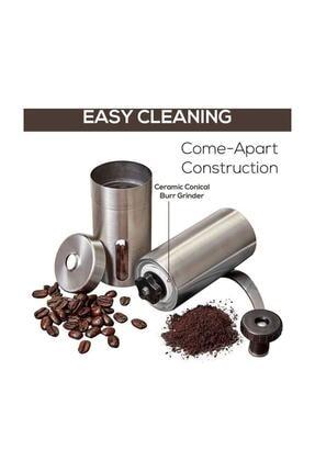Havana Mini Kahve Öğütücü El Değirmeni Paslanmaz Çelik 1