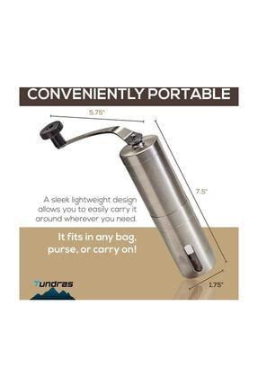Havana Mini Kahve Öğütücü El Değirmeni Paslanmaz Çelik 4