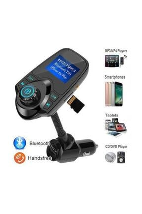 Kingboss T10 Wireless Bluetooth Araç Kiti Girişli Fm Transmitter 3