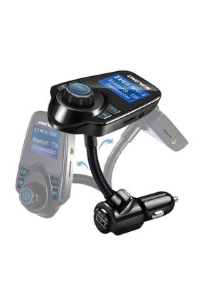 Kingboss T10 Wireless Bluetooth Araç Kiti Girişli Fm Transmitter 4