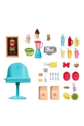 Barbie 'nin Yemek Arabası Oyun Seti 3