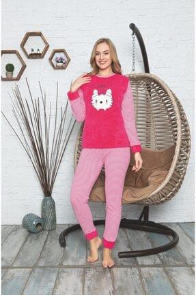 lizbonia Kadın Pembe Pijama Takımı 0