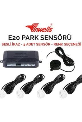 Inwells E20 Inwells Sesli Park Sensörü Gri 0