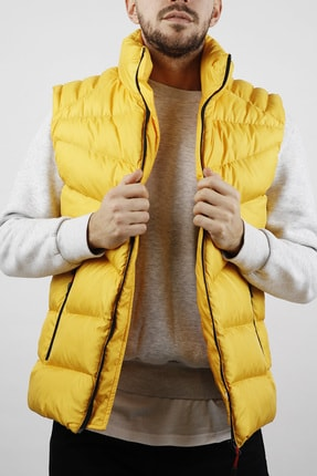 XHAN Sarı Şişme Yelek 1kxe4-44451-10 0