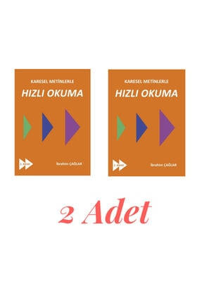 Yazarın Kendi Yayını Karesel Metinlerle Hızlı Okuma 2 Adet 0