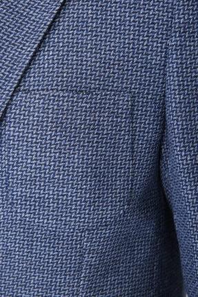 W Collection Erkek Lacivert Balık Sırtı Air Ceket 3