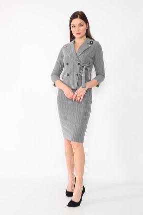 etselements Kadın Gri Takım Elbise 0