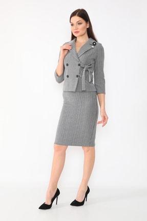 etselements Kadın Gri Takım Elbise 1