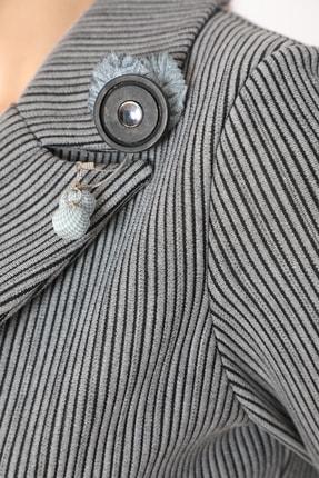 etselements Kadın Gri Takım Elbise 3
