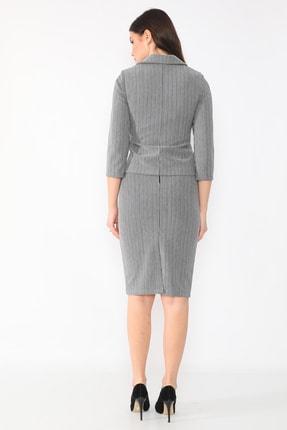 etselements Kadın Gri Takım Elbise 4