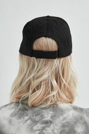 Y-London 13263 Siyah Piercingli Şapka 3