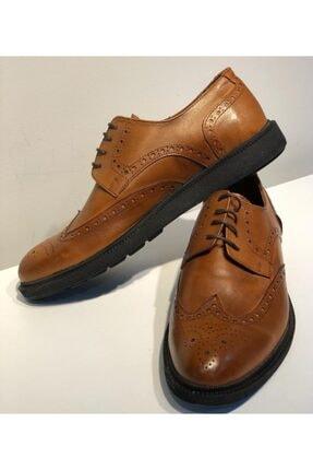 Erkek Taba Hakiki Deri Rengi Klasik Ayakkabı 96547820