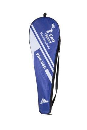 CAN SPORTS Badminton Set Çantalı Mavi (pro-666-mavi) 0