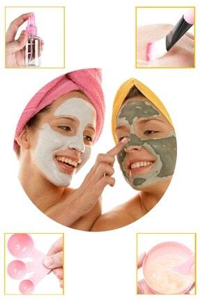 Buffer Kendin Yap Yüz Maskesi Karıştırma Aleti Seti, 9 Parça Dıy Yüz Maskesi Hazırlama Kabı Seti 2