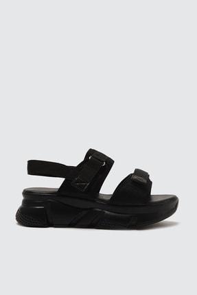 TRENDYOLMİLLA Siyah Kadın Sandalet TAKSS21SD0024 2