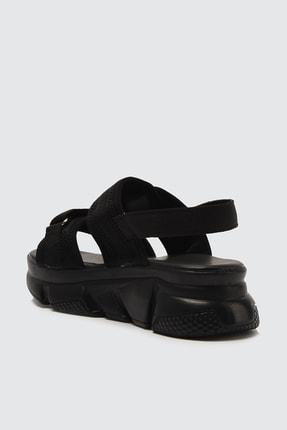 TRENDYOLMİLLA Siyah Kadın Sandalet TAKSS21SD0024 4