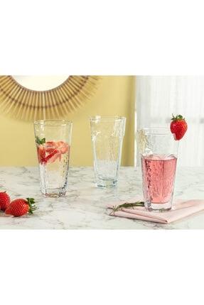 Madame Coco Floressa 4'lü Meşrubat Bardağı Seti 475 ml 0