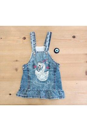 Kız Bebek Kot Elbise MMC000406