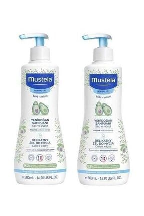 Mustela Saç & Vücut Şampuan 500 Ml | 2 Adet Set 0