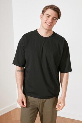 TRENDYOL MAN Siyah Erkek Oversize T-Shirt TMNSS21TS3022 2