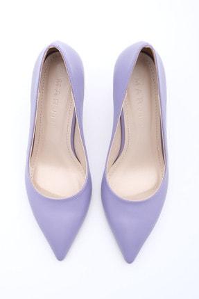 Marjin Kadın LİLA Stiletto Topuklu Ayakkabı Akuna 4