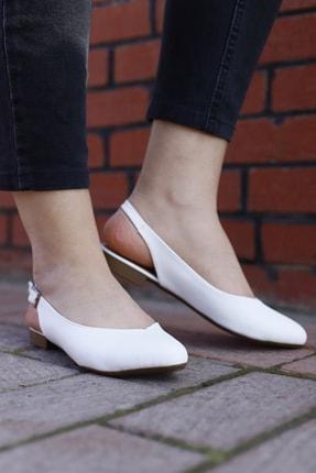 RICH&FAMOUS Kadın Arkası Açık Ortopedik Sandalet Babet 0