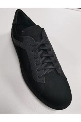 Erkek Ayakkabı Siyah Süet Deri 989802