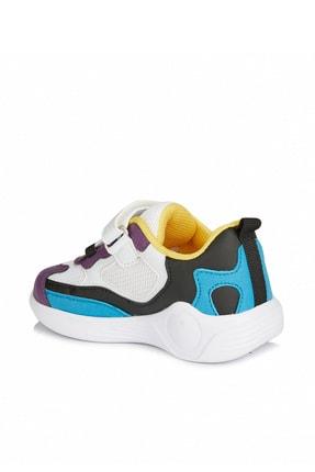Vicco Yoda Kız Çocuk Beyaz/mor Spor Ayakkabı 3