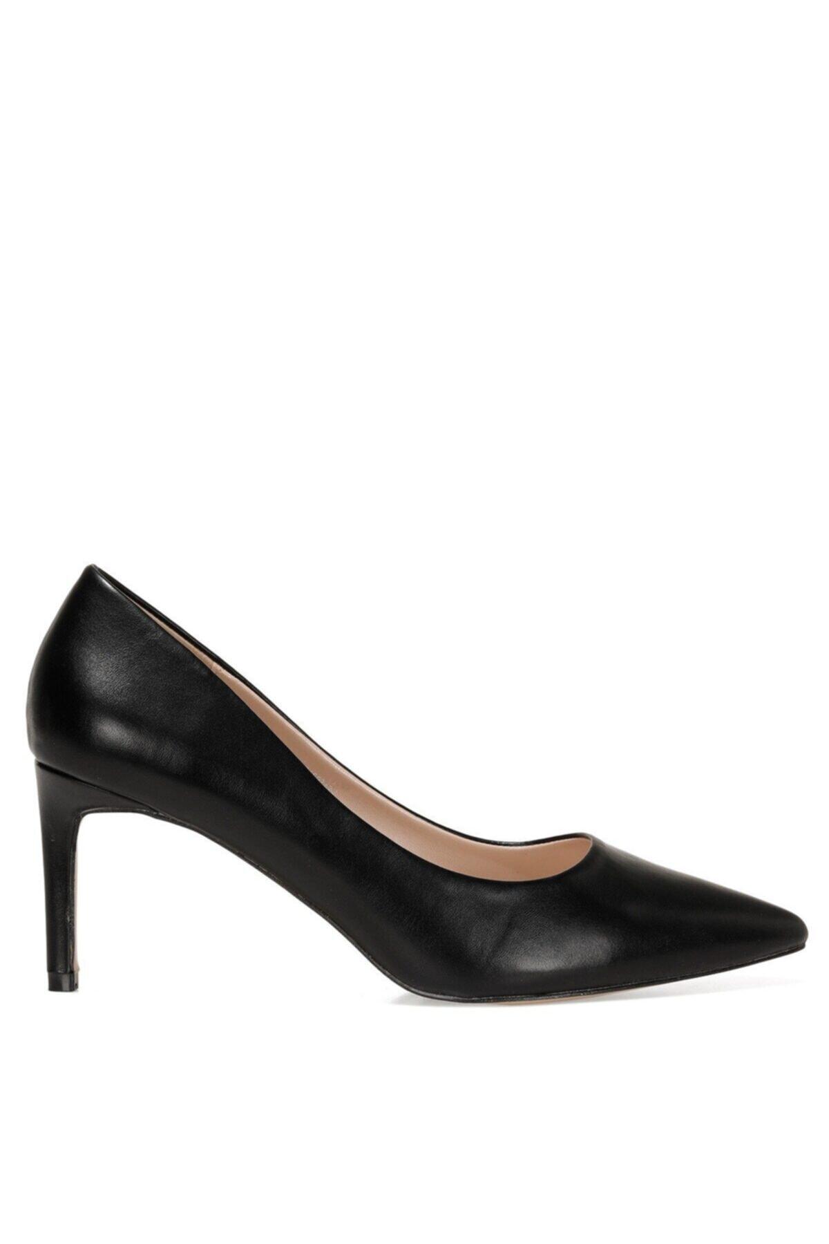 GENTILLA 1FX Siyah Kadın Klasik Topuklu Ayakkabı 101007477