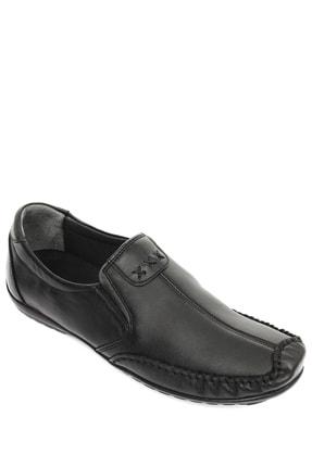 GÖNDERİ(R) Hakiki Deri Siyah Erkek Günlük (Casual) Ayakkabı 01612 3
