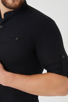 Cosmen Erkek Siyah Gömlek 2
